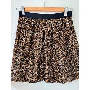 Club Monaco Sequin Skirt